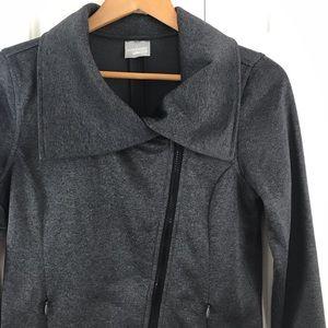 Head Jacket Gray Size Small Asymmetrical Zipper
